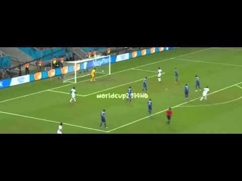Goal Bryan Ruiz vs Grecia