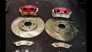 Big Brake upgrade on a budget : Cobra brakes install