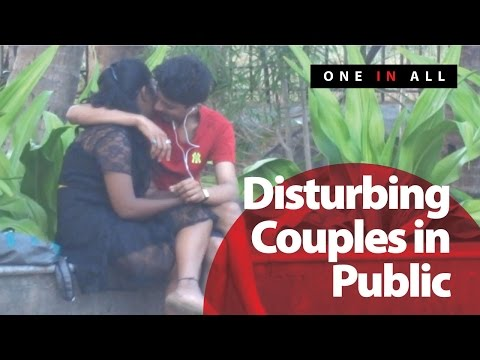Disturbing Couples In Public Prank | One In All (Pranks In India)