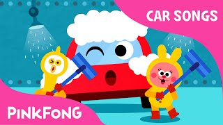 At the Car Wash | Car Songs | PINKFONG Songs for Children