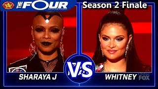 Sharaya J vs Whitney Reign Challenge Round 2  The Four Season 2 FINALE S2E8