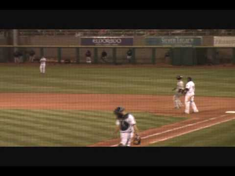 Buster Posey - Fresno Grizzlies Opening Night 2010 Video