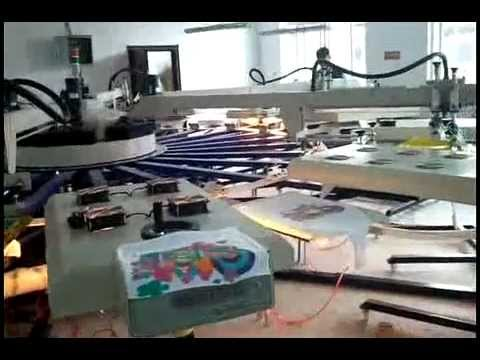 Screen Printer Rotary