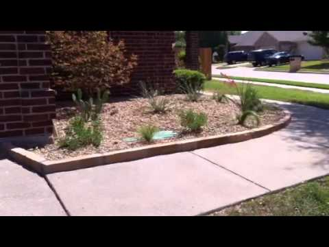 817-759-0102; Landscape Company Fort Worth & Arlington TX; Xeriscape Low Water Garden