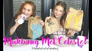 FAST FOOD MUKBANG MET CELESTE! 🍟JOY BEAUTYNEZZ 🍟