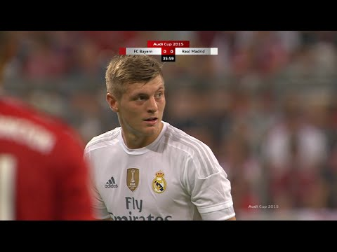 Toni Kroos vs Bayern Munich (Audi Cup Final) 15-16 1080i HD