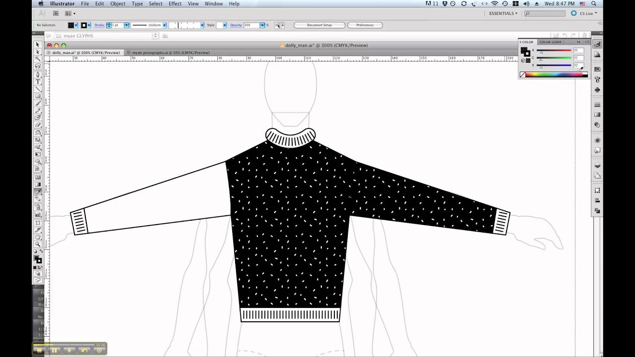 Photoshop Sweater Tutorial Cs5 Sweater Tutorial 5