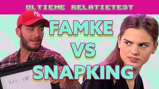 Snapking & Famke Louise beschuldigd van diefstal   Ultieme Relatietest