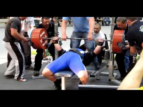 e-powerlifting.com Csepregi Zoltan 370 kg World Record Image 1