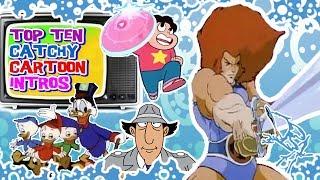 Top Ten Catchy Cartoon Intros!