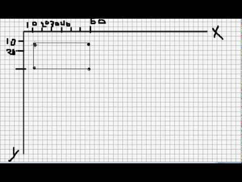 Como dibujar una grafica en un papel cuadriculado video 1 - Papel para dibujar ...