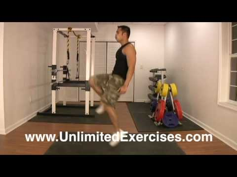 Bodyweight - High Knee Drill