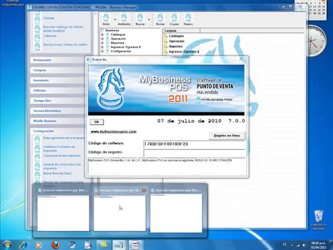 MyBusiness POS 2011 en Windows 7