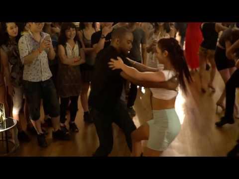 Zouk SEA 2016 Social Dances:  Larissa and Carlos - 2 ~ video by Zouk Soul