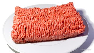 Minced Meat Time-Lapse