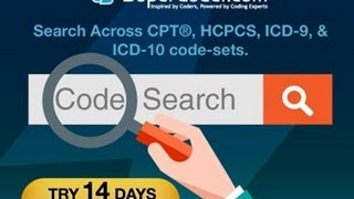 Search by Code - CPT, HCPCS, ICD10 Codes Lookup