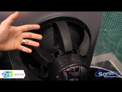 Re Audio Sxx V2 Car Subwoofers | Ces 2013 video