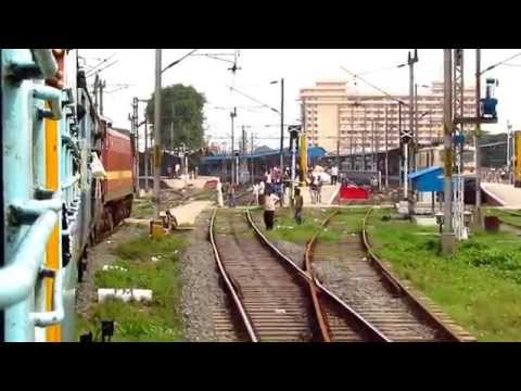 137. IRFCA: Indian Railways ET WAP4 CHENNAI EXPRESS Rare Crossing, LHB Spotting and a Surprise