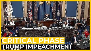 Trump impeachment trial enters critical phase