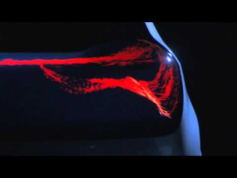 Audi OLED demo - The swarm