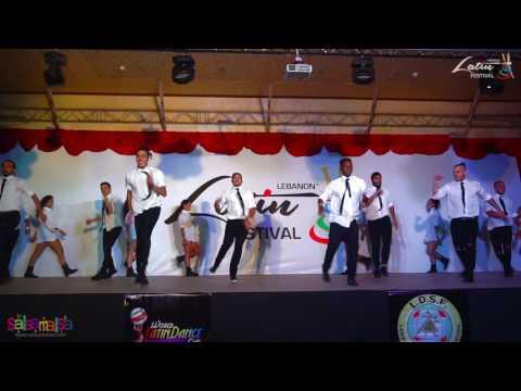 Makriss Dance Ministry Show | Lebanon Latin Festival 2016