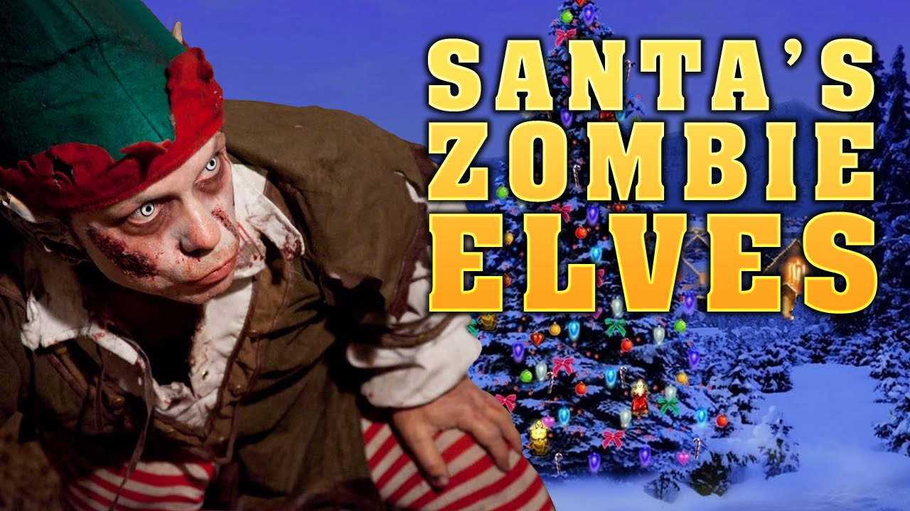 Zombie Santa Game Santa's Zombie Elves ★ Left 4