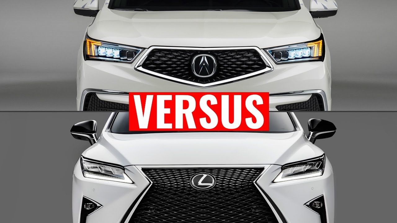 2015 lexus nx vs acura mdx visual comparison youtube. Black Bedroom Furniture Sets. Home Design Ideas