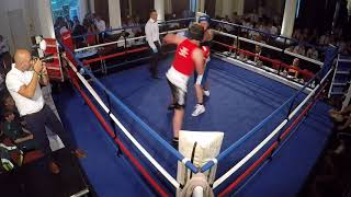 Ultra White Collar Boxing | Harrogate | Luke Barnes VS John Puff