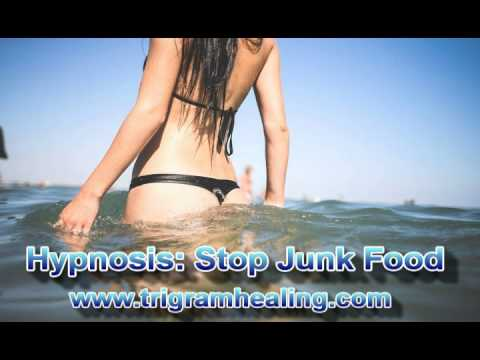 Hypnosis: Stop Eating Junk Food. --Free Weight Loss Hypnosis Session