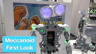 Meccanoid G15 KS - 4 Foot Tall Robot, First Look at CES2015 from Meccano