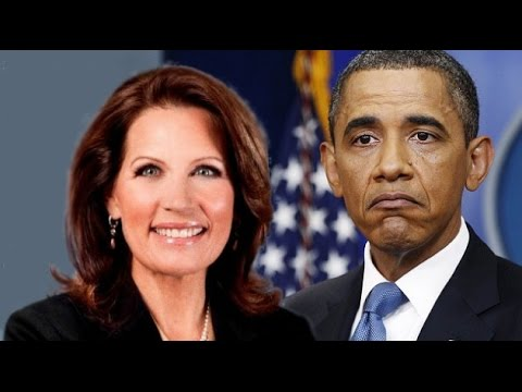 Bachmann Breaks The Bonkers-Meter With Obama Comment