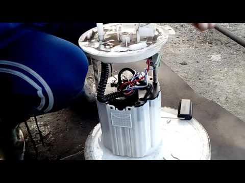 Шевроле кобальт замена топливного фильтра