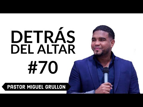 MIGUEL GRULLON DETRAS DEL ALTAR 2013