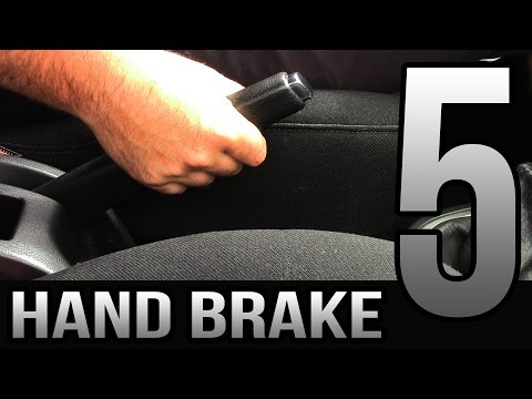 5 Tips for New Drivers - Hand Brake