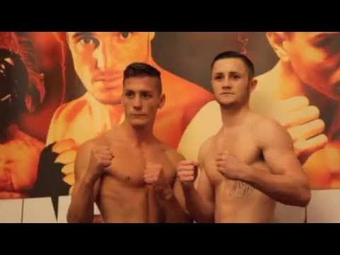 TOM KNIGHT v GARY COOPER - OFFICIAL WEIGH IN FORM HULL / POINT OF NO RETURN