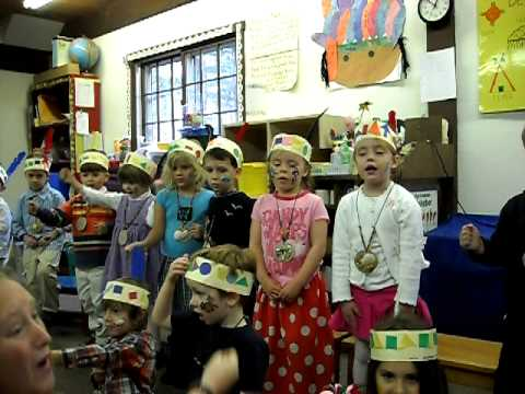 Meadow Acorn School Indian Thanksgiving Sing Along