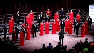 Boğaziçi Jazz Choir - With a Lily In Your Hand (Eric Whitacre) @ WCG 2012, USA