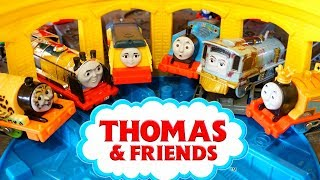 Thomas Trackmaster Adventure Finding NEW Friends Rebecca Merlin Hurricane Push Along Diecasts