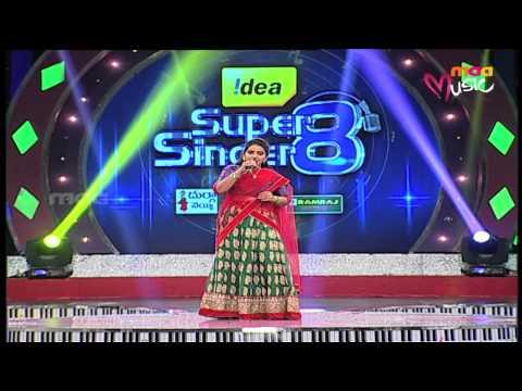 Super Singer 8 Episode 29 - Sirisha Performance