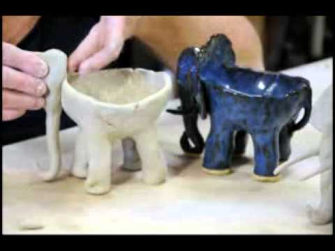 Clay time with Liz: Project 2 - Hand built Elephant Ice ...