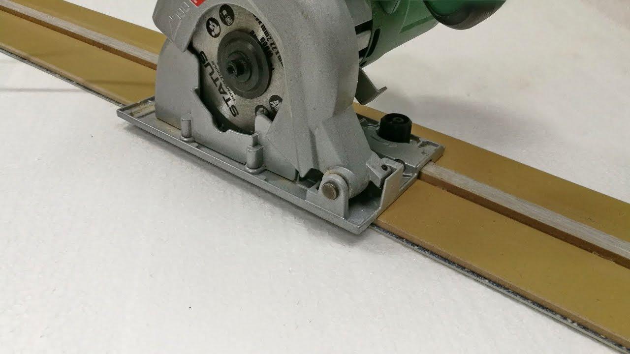 Направляющая шина для циркулярной пилы своими руками инструкция 15