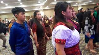 Marimba Teclas Mayas en cookeville Tenessee, fiesta de San Sebastián Mártir