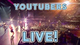 WHEN YOUTUBERS GO LIVE!! 😮