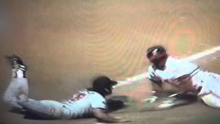 Rick Aguilera Amazing Tag To End Game Minnesota Twins!
