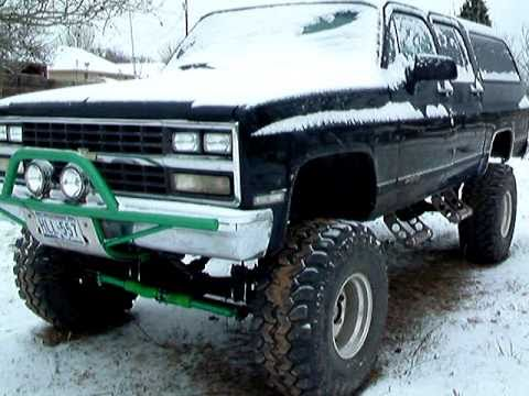 Cold Start 1991 Chevy Suburban 4x4 With Talking Ducks In