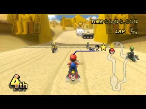 Mario Kart Wii - - Online Races 161: Gimme DAT Pizza