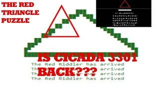 Cicada 3301 is back? - The Red Triangle Puzzle [2017/2018]