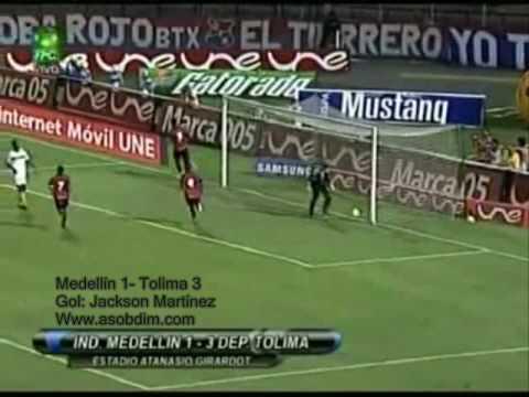 Jackson Martínez goleador de la copa Mustang II-2009, DIM campeón