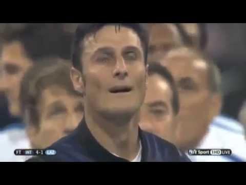 Javier Zanetti ''Ce solo un capitano e ce solo un capitano (Curva Nord)