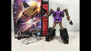 Transformers Power of the Primes Combiner Wars Deluxe Class Decepticon Blast Off Review